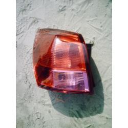 Lampa tylna lewa Nissan Qashqai 2007-2008