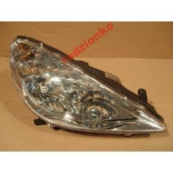 Reflektor prawy Peugeot 607 1999-2004