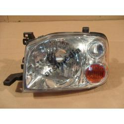 Reflektor przedni lewy Nissan Navara 2001-2004
