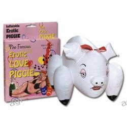 Gumowa lalka w kształcie świnki