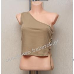 Modna bluzka wiązana z boku