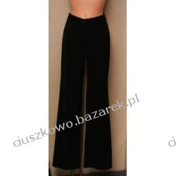 Czarne spodnie wizytowe