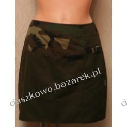 Modna spódniczka z akcentem moro