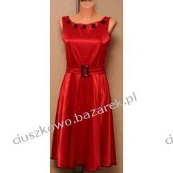 Czerwona suknia wieczorowa