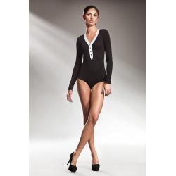 Elegancka bluzka BODY - czarny - B12...
