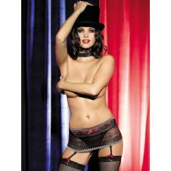 Showgirl Garter Belt pas do pończoch...
