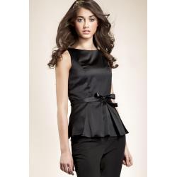 Bluzka baskinka - czarny - B20...
