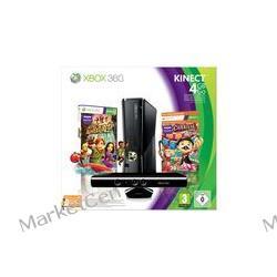 MICROSOFT Konsola Xbox 360 S - 4 GB + sensor Kinect + gra Carnival + abonament Xbox Live 3 miesiące