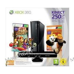 MICROSOFT Konsola Xbox 360 S - 250 GB +sensor Kinect + Kung Fu Panda 2