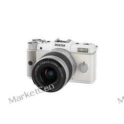 PENTAX Q biały + obiektyw 5-15 mm