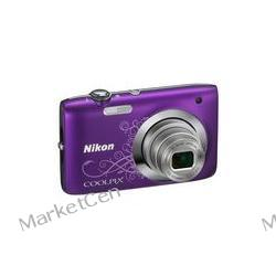 NIKON Coolpix S2600 fioletowy