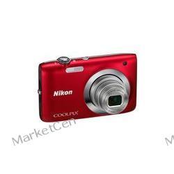 NIKON Coolpix S2600 czerwony