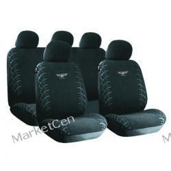 RACE SPORT Pokrowce na fotele samochodowe vermont czarne