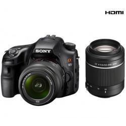 SLT-A65VY + obiektyw DT 18-55 mm + obiektyw DT 55-200 mm II...