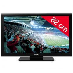 Telewizor LCD 32AV933G + Listwa zakrywająca kable STILE Line Cover Double + Uchwyt ścienny ES200 + Pozłacany 24-karatowy kabel H...