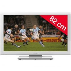 Telewizor LCD 32AV934G + Uchwyt ścienny ES200 + Pozłacany 24-karatowy kabel HDMI-1,5 m - SWV3432S/10 + Listwa zakrywająca kable ...