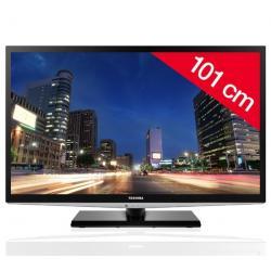 Telewizor LCD 40LV933G + Pozłacany 24-karatowy kabel HDMI-1,5 m - SWV3432S/10 + Stały uchwyt ścienny czarny + Listwa zakrywająca...