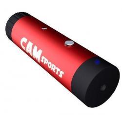 Mini kamera FUN czerwona/czarna + Etui nylonowe TBC-302...