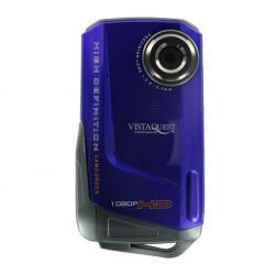 Mini kamera VQ DV820HD Sport UW fioletowa + Kabel HDMi męski/mini męski pozłacany (1.5 m) + Karta pamięci MicroSD 2 GB + adapter...