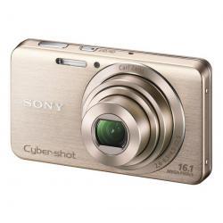 DSC-W630 platynowy + Karta pamięci SDHC 4 GB  + Etui Pix Ultra Compact 9,5 x 2,7 x 6,5 cm...
