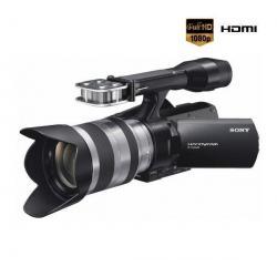 Kamera HD Handycam NEX-VG20EH + obiektyw SEL 18-200 mm + Kabel HDMi męski/mini męski pozłacany (1.5 m) + Bateria SFV70 + Torba n...