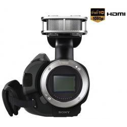 Kamera HD Handycam NEX-VG20EH body + Bateria SFV70 + Kabel HDMi męski/mini męski pozłacany (1.5 m) + Torba na ramię do sprzętu w...