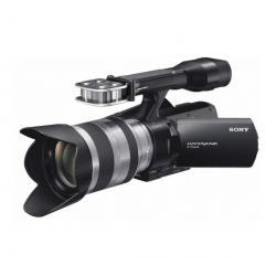 Kamera HD Handycam NEX-VG20EH + obiektyw SEL 18-200 mm + Torba na ramię do sprzętu wideo CC-195 PL + Bateria SFV70...