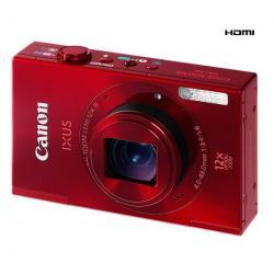 500 HS czerwony + Etui Compact + Akumulator eForce NB9L + Karta pamięci Micro SD HC 8 GB + adapter SD...