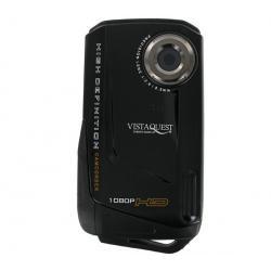Mini kamera VQ DV820HD Sport UW czarna + Kabel HDMi męski/mini męski pozłacany (1.5 m) + Etui nylonowe TBC-302 + Karta pamięci M...