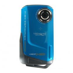Mini kamera VQ DV820HD Sport UW niebieska + Kabel HDMi męski/mini męski pozłacany (1.5 m) + Karta pamięci MicroSD 2 GB + adapter...