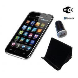Odtwarzacz MP4 Galaxy S WiFi 4.0 8 GB + uchwyt + ładowarka samochodowa (YP-G1CW/TTT)...