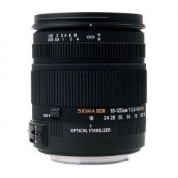 Obiektyw 18-125 mm f/3,8-5,6 DC OS HSM...