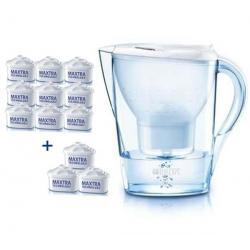 Zestaw 9 wkładów Maxtra + 3 wkłady Maxtra gratis + 1 dzbanek filtrujący Marella blanche gratis - 1006117...
