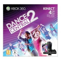 Konsola Xbox 360 S - 4 GB + sensor Kinect + gra Dance Central 2 [XBOX360]...