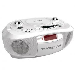 Radioodtwarzacz  CD/Kasety/MP3/USB RK300CDU - biały...
