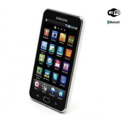 Odtwarzacz MP4 Galaxy S WiFi 5.0 16 GB (YP-G70EW/XEF) + Kabel audio stereo jack męski/męski  (1,2 m) + Uniwersalna ładowarka IUS...