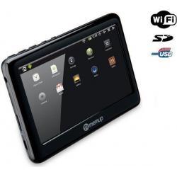 Odtwarzacz MP4 Pocket Pad WiFi - 8 GB + Kabel audio stereo jack męski/męski  (1,2 m) + Ładowarka USB biała...