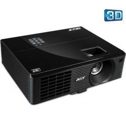 Projektor 3D X1111 + Okulary 3D  E2b czarne...