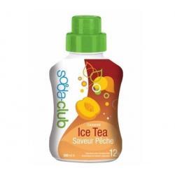 Sok Soda Club Ice Tea o smaku brzoskwiowym (500 ml) + Syrop Soda Club limonka...