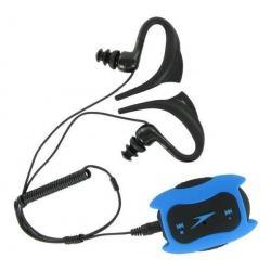 Odtwarzacz MP3 Speedo Aquabeat 2 GB niebieski + Ładowarka USB biała...