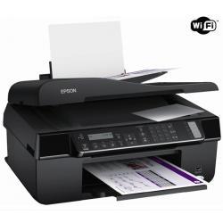 Wielofunkcyjna sieciowa drukarka Stylus Office BX320FW + WiFi + Kabel USB A męski/B męski 1,80m + Kartridż tuszu T1295 - czarny,...