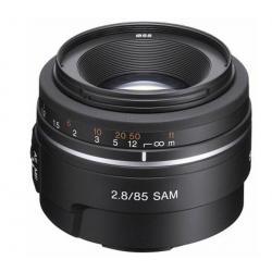 Obiektyw SAL-85F28 85 mm f/2.8 SAM + Neoprenowy pokrowiec LPXPERTS...