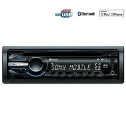 Radioodtwarzacz samochodowy CD/MP3/USB/Bluetooth MEX-BT3900U + Pokrowiec do panela radia samochodowego EFA100...