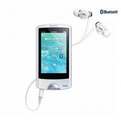 Odtwarzacz r MP4 FM NWZ-A865 16GB biały + Kabel audio stereo jack męski/męski  (1,2 m) + Ładowarka USB biała...