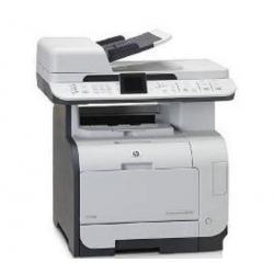 Wielofunkcyjna sieciowa kolorowa drukarka laserowa Color LaserJet CM2320fxi + Kartridż tuszu HP Color LaserJet CC532A żółty + To...
