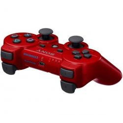 Gamepad DualShock 3  czerwony [PlayStation 3] + Gamepad DualShock 3 [PlayStation3]...