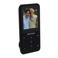 Odtwarzacz MP3 18B Vision - 4 GB + Słuchawki douszne MDR-EX50LP czarne + Łącznik do gniazda jack 3.5 mm...