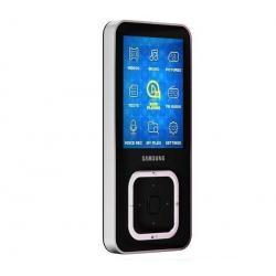 Odtwarzacz MP3 FM YP-Q3CB 8 GB - czarny + Ładowarka USB biała + Kabel audio stereo jack męski/męski  (1,2 m)...