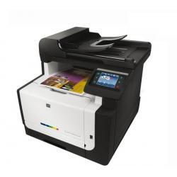 Wielofunkcyjna sieciowa kolorowa drukarka laserowa LaserJet Pro CM-1415fnw + WiFi + Toner HP LaserJet 128A (CE321A)  cyjan + Ton...