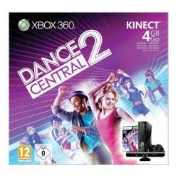 Konsola Xbox 360 S - 4 GB + sensor Kinect + gra Dance Central 2 [XBOX360] + Bezprzewodowy gamepad Xbox 360 - czarny...